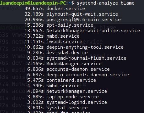 Como melhorar o boot do Linux