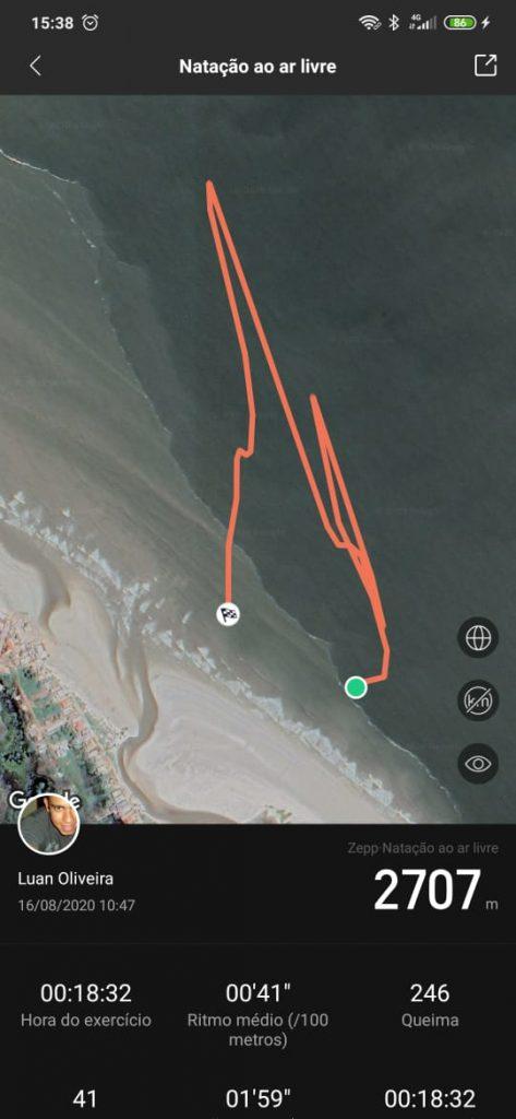 Smartwatch kitesurf